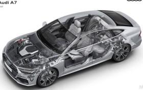 仅推出3.0T车型 全新一代奥迪A7今晚上市
