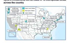大众子公司7月在美开始新扩张 扩大电动汽车充电网