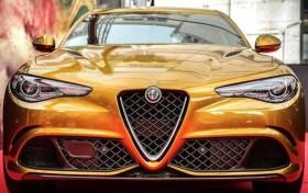 阿尔法·罗密欧推Giulia特别版 独特的车漆颜色
