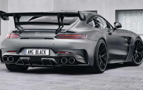 梅赛德斯AMG GT Black Series渲染图曝光 将于2020年首发亮相