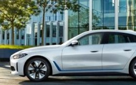 宝马i4轿车发布,着力打造基于EV的宝马风格驾驶动态体验